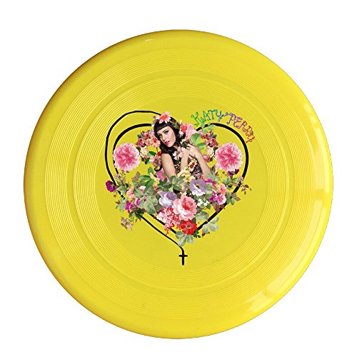 Katy Perry Shark Costume For Sale (YQUE56 Unisex Love Pop Singer Fruit Outdoor Game Frisbee Sport Yellow)