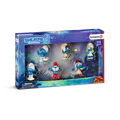 Smurfs Figurine (Smurfs Movie Set 3 Action Figure)