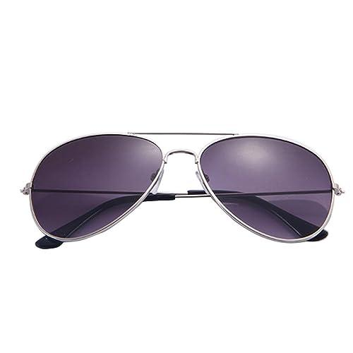 Rawdah Gafas de sol clásicas del diseñador del metal de los hombres y de las mujeres calientes