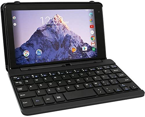 RCA Voyager Pro 7 16GB Tablet with Keyboard Case Android 6.0 (Marshmallow) in Charcoal (RCT6873W42KC M)