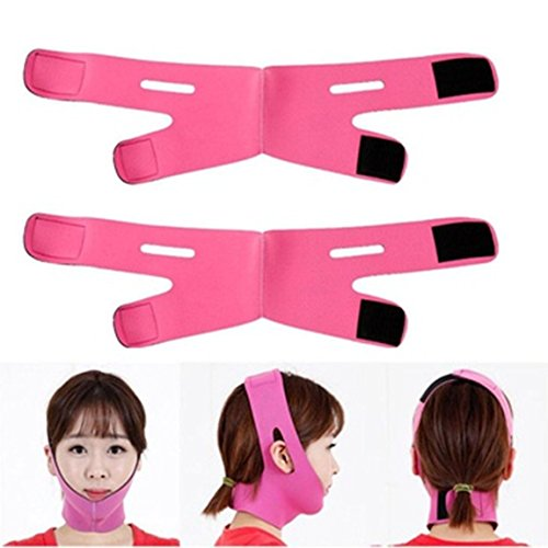 V-Line Facial Slimming Mask Reduce Double Chin Face Strap Face-lift Bandage Belt - A Face Shape Of