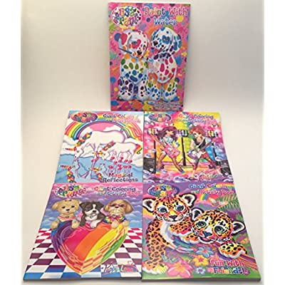 Lisa Frank Paint with Water Book: Toys & Games