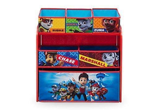 Delta Children Multi Bin Toy Organizer, Nick Jr. PAW Patrol