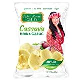 (US) Wai Lana Cassava Chips | Herb & Garlic, Gluten-Free, Vegan, 3 Ounce (Pack of 6)