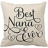 Best Nana Ever R069ecc786a874091b962ae7258f4e93a I5fqz 8byvr Pillow Case