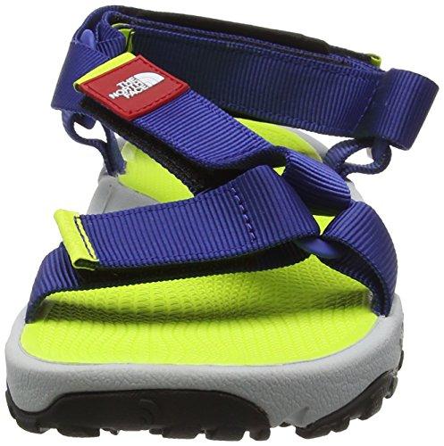 The North Face M Litewave Sandal, Sandalias Deportivas para Hombre, Gris Azul (Limoges Blue / Lantern Green)