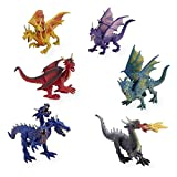 Animal Planet 6 Pack Collectible Dragons