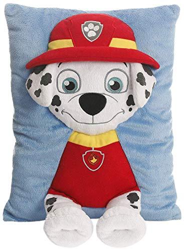 - Paw Patrol Marshall Decorative Pillow, Red/Black/White