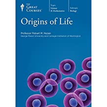 Origins of Life. (The Great Courses). Includes: Transcript Book, Course Guidebook, and 2 DVDs