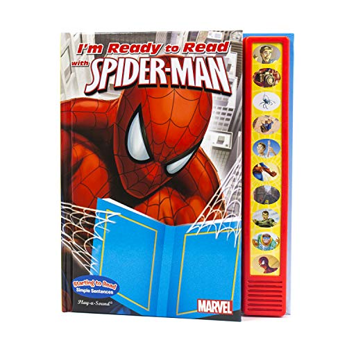 Marvel - Spider-man I'm Ready to Read Sound Book - PI Kids
