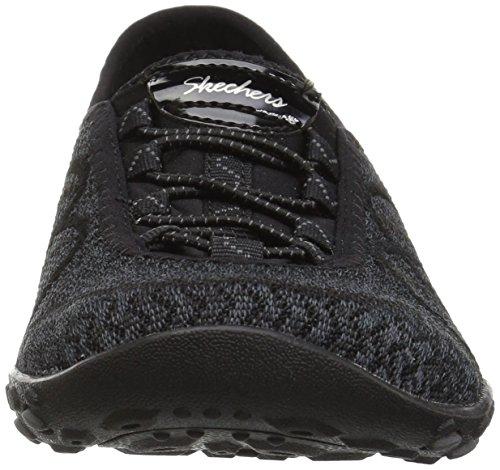 black easy Breathe Donna Skechers Sneaker jam Blk sweet Nero Infilare vqwBPHw
