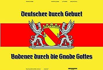 Sammeln & Seltenes Deutsche durch geburt Badener durch Gnade Gottes Baden Wappen blechschild