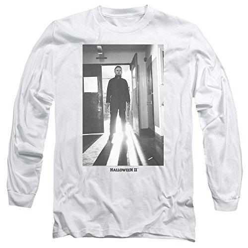 Halloween II Horror Slasher Movie Series Monster Adult Long Sleeve T-Shirt ()
