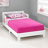 KidKraft Toddler Houston Bed, White