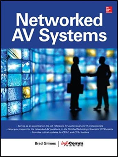 networked audiovisual systems brad grimes info m international Arts a V Technology and Communications Jobs networked audiovisual systems 1st edition