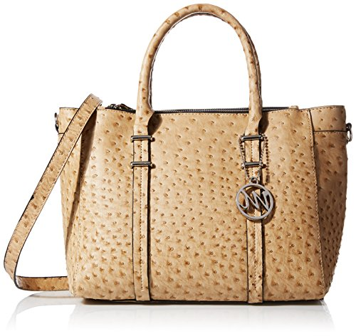 emilie-m-nora-double-zipper-satchel-bag-sand-ostrich-one-size