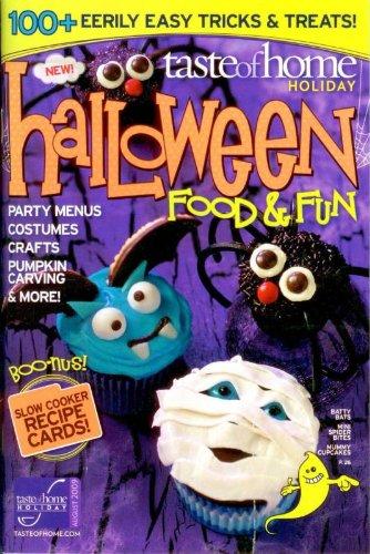 Taste Of Home Holiday - Halloween Food & Fun - August 2009 -