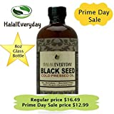 HalalEveryday - 8 oz Black Seed Oil, 100% Pure Black Cumin Seed Oil Cold Pressed in the USA