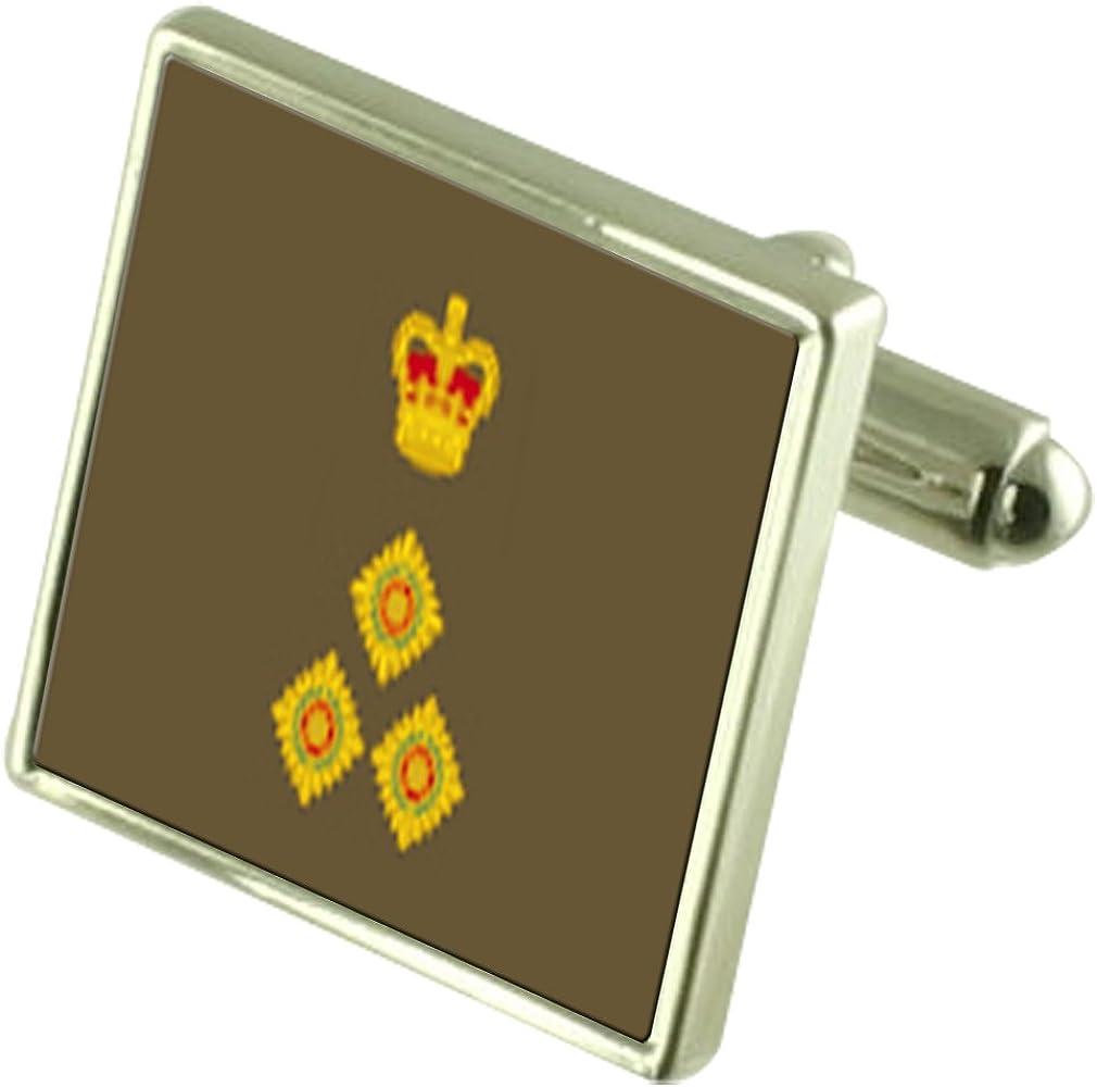 Select Gifts Army Insignia Rank Brigadier Engraved Keepsake Message Box