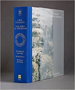 The Lord Of The Rings By J R R Tolkien Illustrated 19 Jun 2014 Hardcover Amazon Com Books