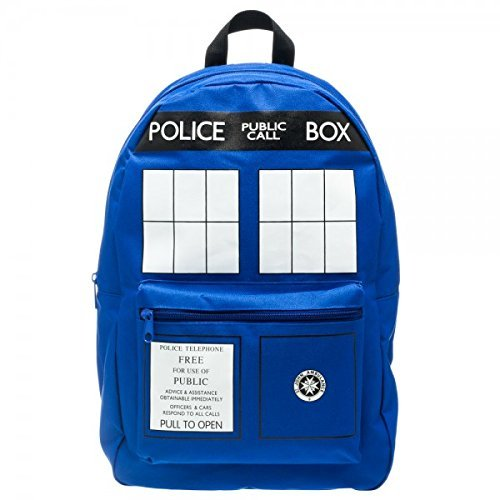 Doctor Who Tardis Backpack