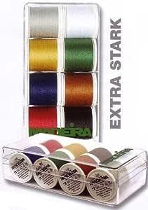 Madeira 8016 Areofil - Caja de Hilos de Costura extrafuertes (n.º ...