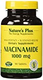 Natures Plus Niacinamide – 1000 mg, 90 Vegetarian Tablets, Sustained Release – High Potency Vitamin B3 Supplement, Promotes Lower Blood Pressure, Joint Pain Relief – Gluten Free – 90 Servings Review