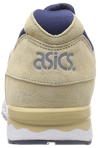 Asics Women's Gel-Lyte V Low-Top Sneakers Brown (Marzipan/Dark Blue 0549) 6nBTyJFRS