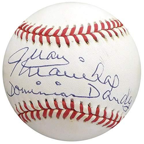 (Juan Marichal Autographed Signed Memorabilia Official Nl Baseball San Francisco Giants Dominican Dandy - Beckett Authentic)