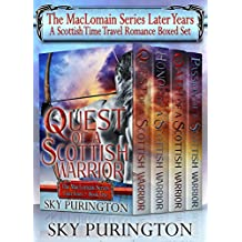 The MacLomain Series: Later Years (Books 1-4)- A Scottish Time Travel Romance Boxed Set