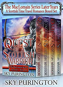 The MacLomain Series: Later Years (Books 1-4)- A Scottish Time Travel Romance Boxed Set by [Purington, Sky]
