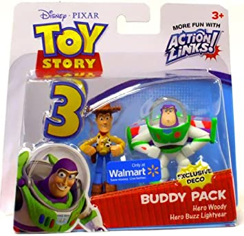 Disney Pixar Toy Story 3 Exclusive Action Links Mini Figure Buddy