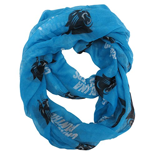 Littlearth NFL Carolina Panthers Sheer Infinity Scarf Alternate -