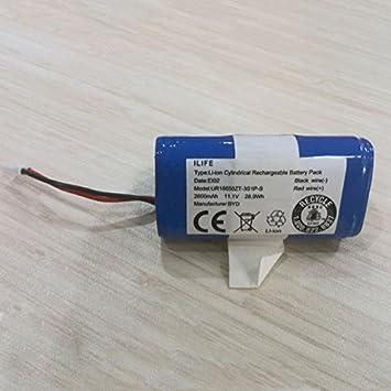 Asegure expendedora Suecia ILIFE Robot Aspirador Batterypack para ILIFE V3 V5 V5PRO V5S CW310 V7 V7S limpieza Robot Vacuum Cleaner reemplazo de la batería: ...