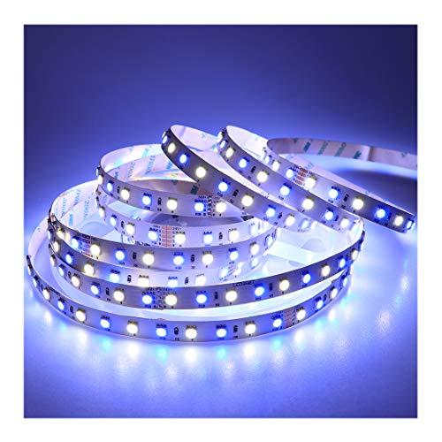 (LEDENET LED Light Strip Super Bright RGBW RGB White Flexible 5M 360 LEDs one reel 5050 SMD Ribbon Lamps 24V Non-waterproof Tape Lighting)