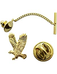 Flying Eagle Tie Tack ~ 24K Gold ~ Tie Tack Pin