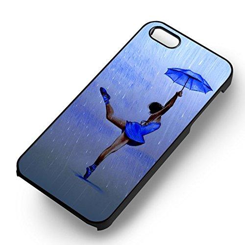 Dancing In The Rain pour Coque Iphone 6 et Coque Iphone 6s Case (Noir Boîtier en plastique dur) D0J7FP