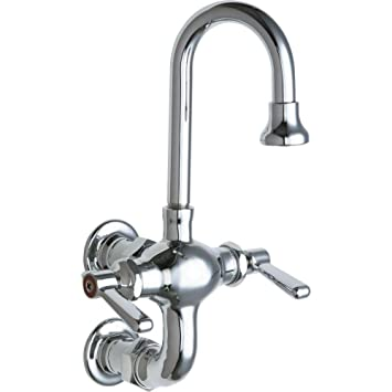 Chicago 225-261ABCP Faucets Wash Sink Faucet - Touch On Bathroom ...
