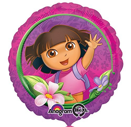 Dora's Flower Adventure Foil Balloon by Mayflower Distributing