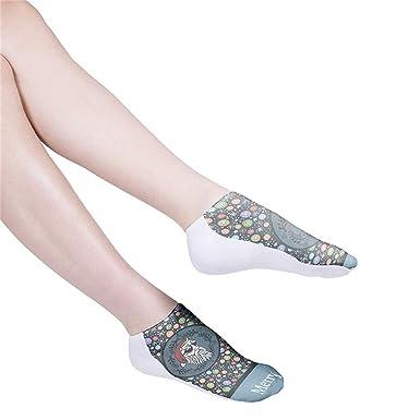 DEELIN Calcetines Para Las Mujeres 3D Colorido Tie Dye Calcetines De CompresióN Calcetines De FúTbol Calcetines Altos Pantalones Cortos Calcetines ...