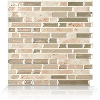 Amazon Com Smart Tiles Peel And Stick Backsplash And Wall