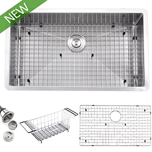 Single Bowl Undermount Stainless Steel Sink - 6