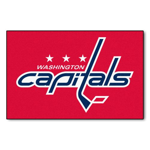- FANMATS NHL Washington Capitals Nylon Face Starter Rug
