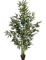 نبات خيزراني صناعي بطول 2.5 متر، شجرة صناعية، نباتات حدائق، ديكور منزلي، نباتات صناعية - شجرة