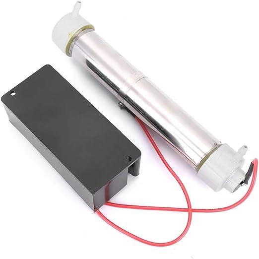 DERCLIVE Tubo de Ozono Generador de Ozono Profesional para Esterilizador de Purificador de Aire de Hogar de Piscina: Amazon.es: Hogar