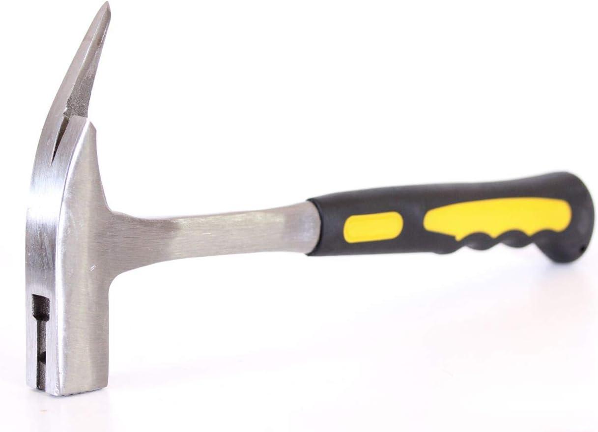 Marteau de charpentier forg/é acier avec arrache-clou couvreur charpentier KFH