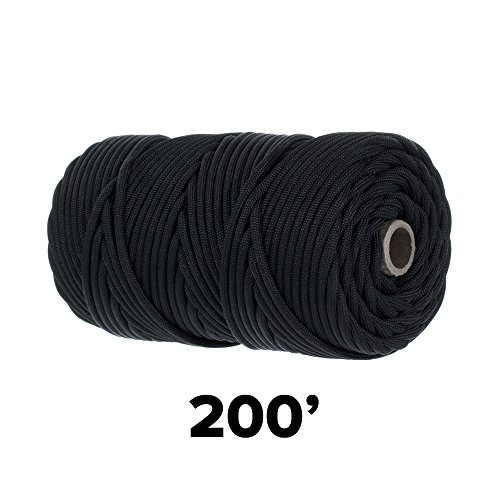 GOLBERG 550lb Parachute Cord Paracord - 100% Nylon USA Made Mil-Spec Type III Paracord - Used by The US Military - Multiple Colors & Lengths Available by GOLBERG G (Image #6)