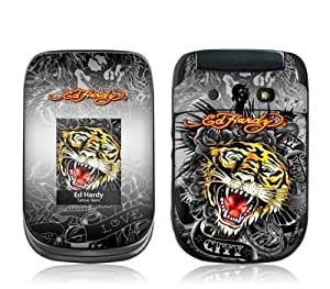 MusicSkins, MS-EDHY60246, Ed Hardy - Tiger , BlackBerry Style (9670), Skin by supermalls