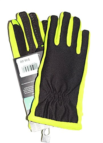 Isotoner Women's Smartouch Tech Stretch Glove (Lime Punch, Medium/Large)