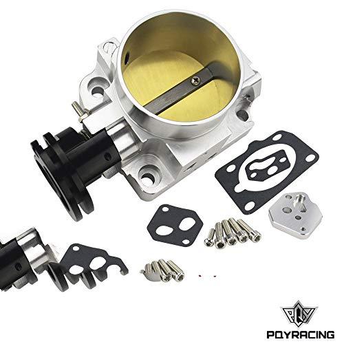 - PQYRACING Aluminum 64mm Pro Series Throttle Body for 99-05 Mazda MX-5 Miata BP-4W BP-Z3